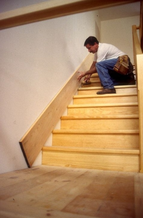 Stair Skirt Ideas Attaching Skirting Boards On A Staircase | Для Дома Picture 980