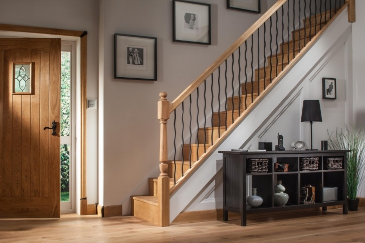 Stair Spindles Black Iron Plain Stair Spindles | Blueprint Joinery Image 664