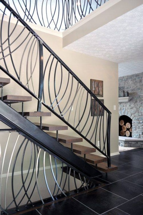 Staircase Grill Design 40 Modern Stair Railing Ideas - Best Staircase Safety Photo 200