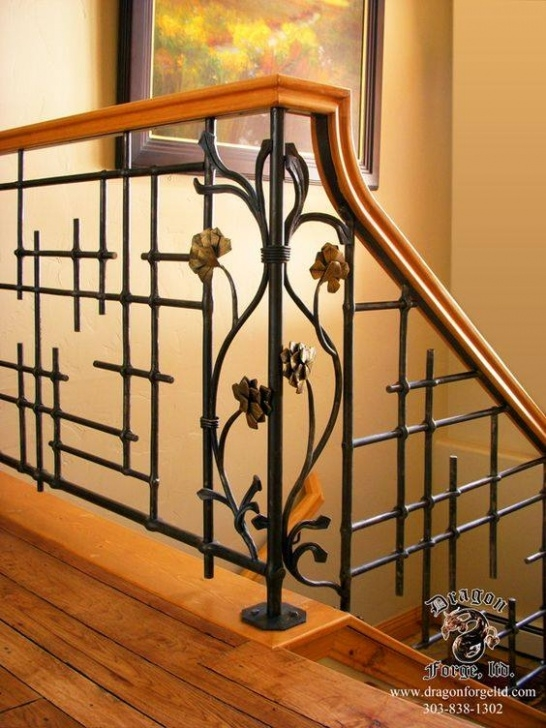 Staircase Grill Design 40 Modern Stair Railing Ideas - Best Staircase Safety Picture 332