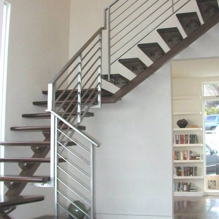 Staircase Grill Design Cast Iron Spiral Staircase In Delhi Ncr, Stainless Steel Photo 299