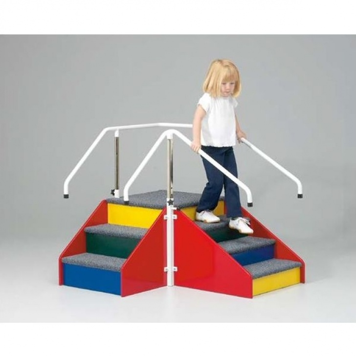 Staircase Physiotherapy Homecraft Paediatric Corner Steps :: Sports Supports Image 311