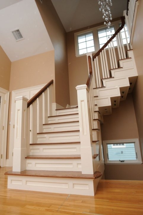 Stairs And Handrails Mail Balusters, Staircase & Stair Railings | Apex Carpentry, Ma Photo 671