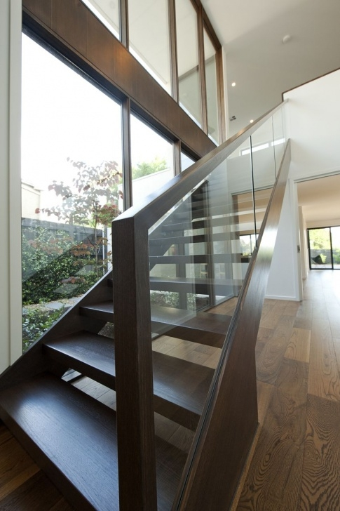 Stairs Simple Design Modern | Stair | Simple | Basic | Glass | Balustrade Image 055