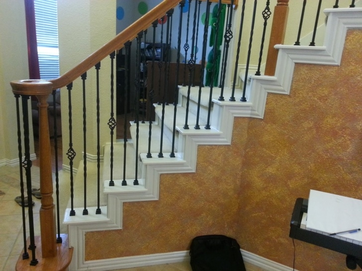 Stairs Steel Part High Quality Powder Coated Iron Balusters Image 185