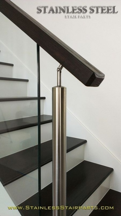 Stairs Steel Part Modern Glass Stainless Staircases | Stainless Steel Stair Picture 118