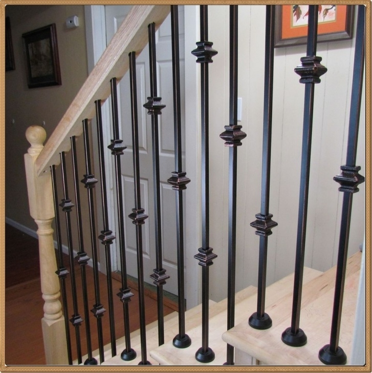 Stairs Steel Part Powder Coated Iron Balusters For Stairs And Balconies Image 551