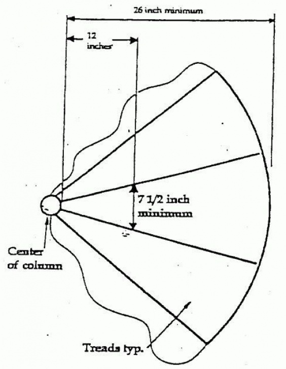 Standard Dimensions Of A Spiral Staircase Standard Spiral Staircase Dimensions 08 037 Images 27 Photo 135