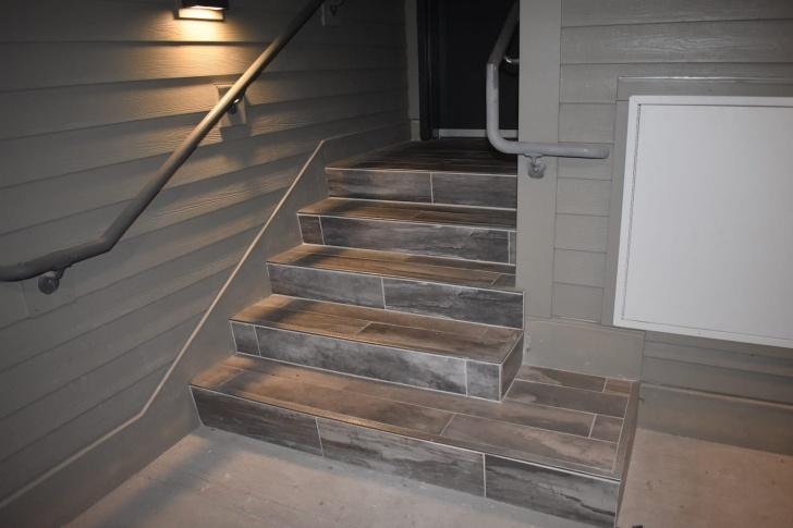 Tile Staircase Ideas Tile Landing Stair Transition | Tile Design Ideas Image 788
