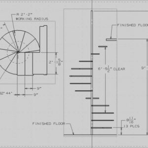 What Is The Standard Diameter Of A Circular Staircase