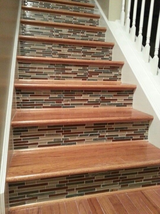 Wood And Tile On Stair Staircases That Will Make Your Mouth Drop | Diy Stairs Photo 599