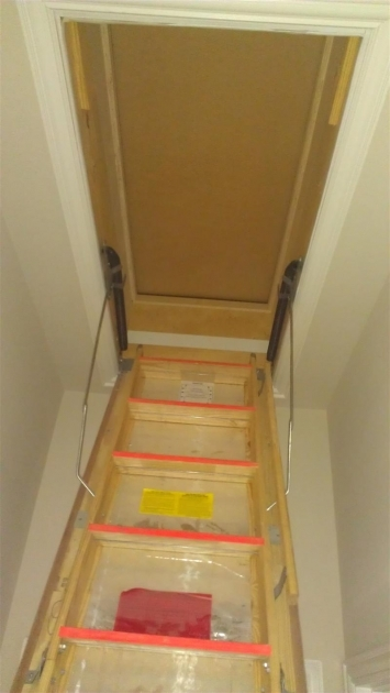 Attic Door Insulation Insulated Attic Door Saves Heating And Cooling Dollars Images 83