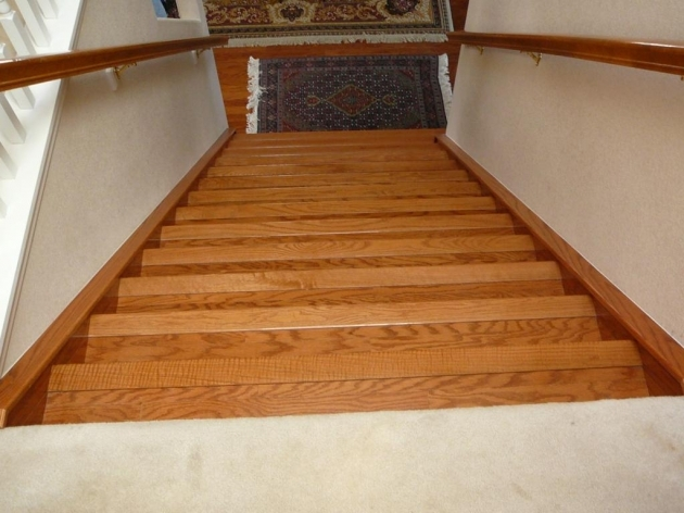 Hardwood Stairs Treads Home Stair Design Pic 45