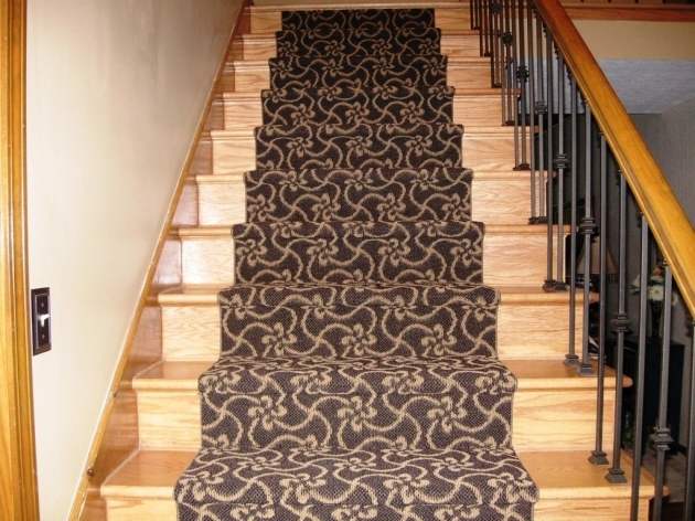 Hardwood Stairs Treads With Carpet Treads For Wood Stairs Image 70