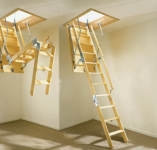 Pull Down Attic Stairs Small Details When Building Homes Folding Attic Stairs Image 99