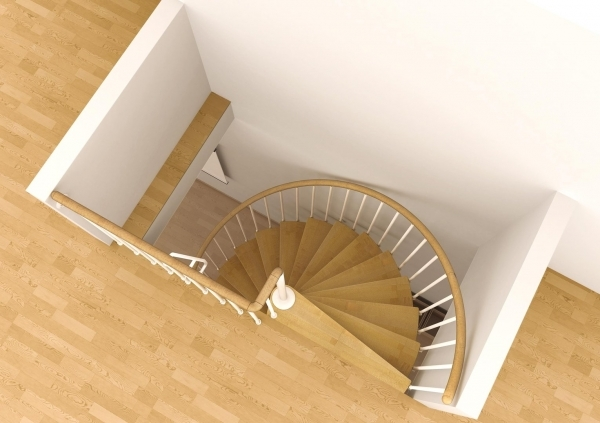 Space Saving Stairs Spiral Staircase Type Toscana Pics 67