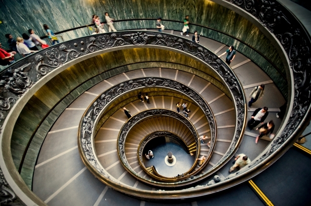 Spiral Staircase Dimensions In The Vatican Museums  Pic 09