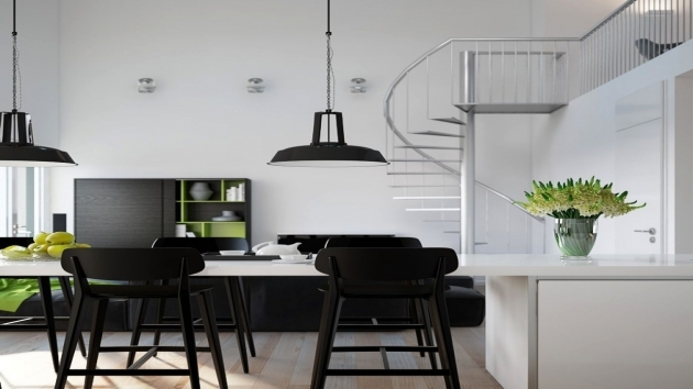 Spiral Staircase Kits Apartments Spiral Staircase In Contemporary Home Interior With Photo 43