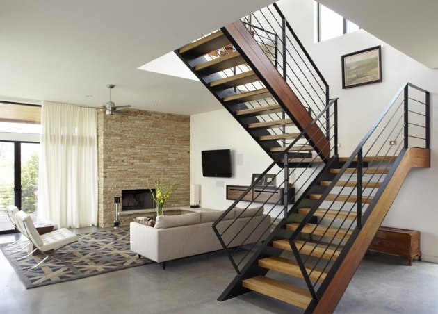 Staircases Designs With Railing Oak Interior Stair Case Railing Designs Pic 34