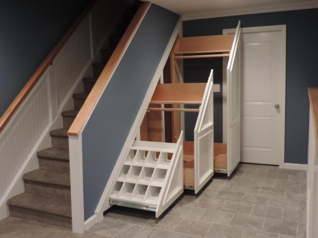Under Stairs Storage Ideas For Coats  Images 26