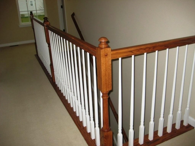Wood Stair Spindles The Type And The Composition Of Stair Spindles Images 24