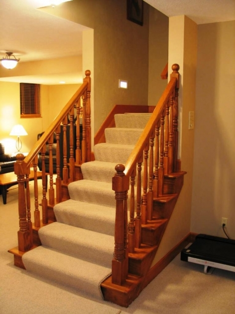 Basement Stairs Railing Basement Stair Railings All In One Home Ideas Image 38