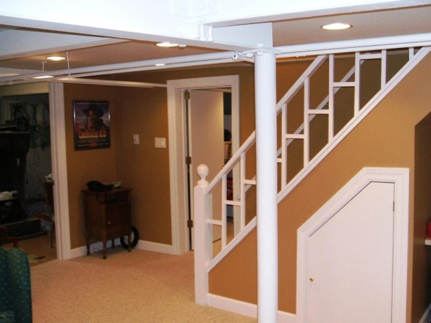 Basement Stairs Railing Best Basement Stairs Ideas Picture 44