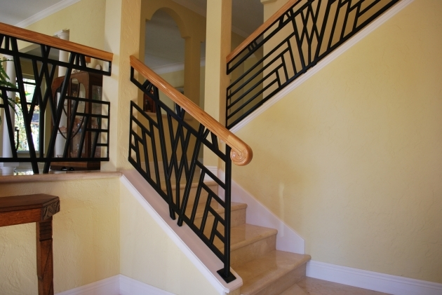 Modern Wooden Handrail Modern And Exciting Handles For Wood Railing Designs Interior Style Ideas Images 83