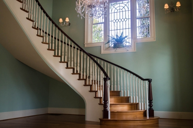 Curved Staircase Railing Double Open Curved Staircase Artistic Stairs Pictures 42