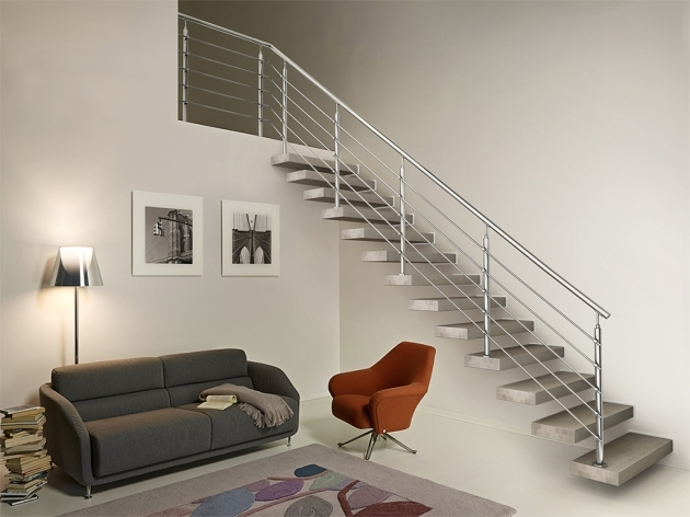 Floating Stair Kits Wall Tread Kits Style Design And Functionality Image 68