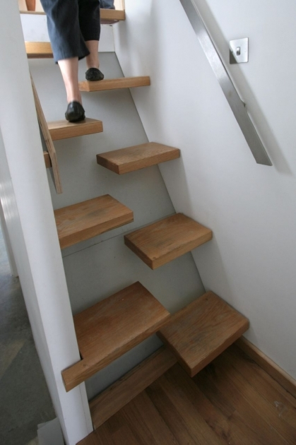 Simple Staircase Design Ideas Space Saving Stairs Small Space Pics 12