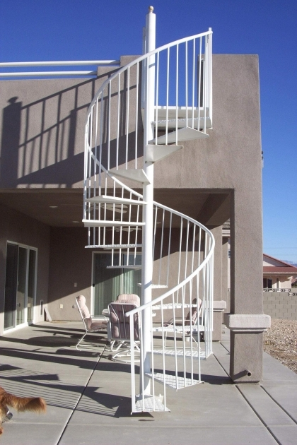 Spiral Staircases Exterior Inferiorly Crafted Wrought Iron Steel Images 73