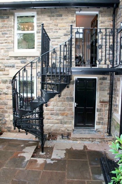 Spiral Staircases Exterior Outdoor Spiral Staircase Kits Ideas For Your Home Picture 70
