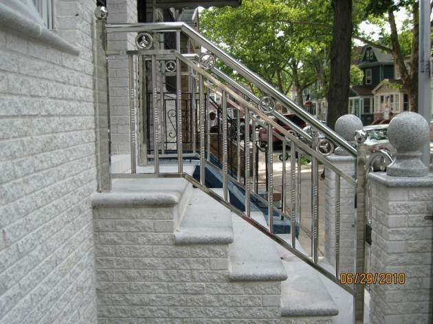 Stainless Steel Railing Designs Outdoor Stair Railing Height Modern House Photos 35