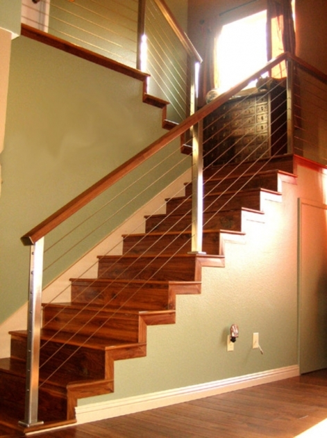 Wooden Staircase Railing Garage Stairs On Pinterest Railing Ideas Images 33