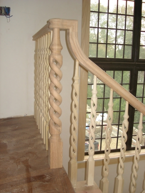 Wooden Staircase Railing Woodworking Custom Stairs Picture 85
