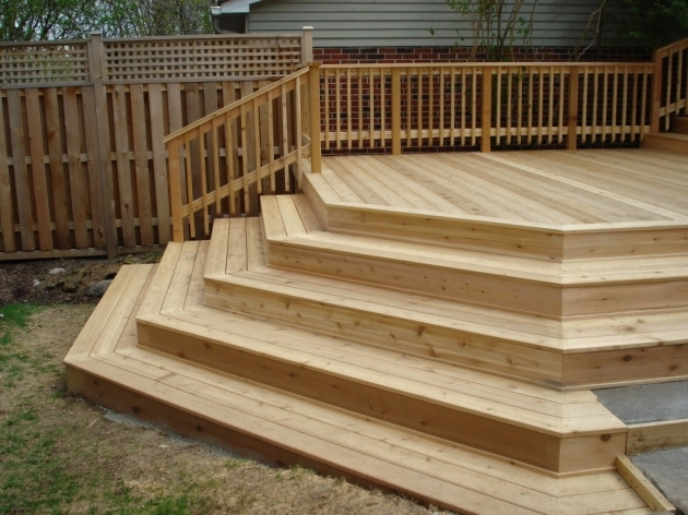 Building Stairs For A Deck And Steps With The Best Wood Photos 33