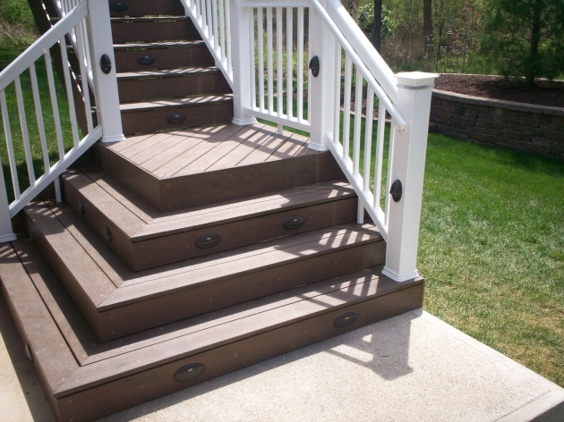 Building Stairs For A Deck Steps On Pinterest Deck Stairs Image 81