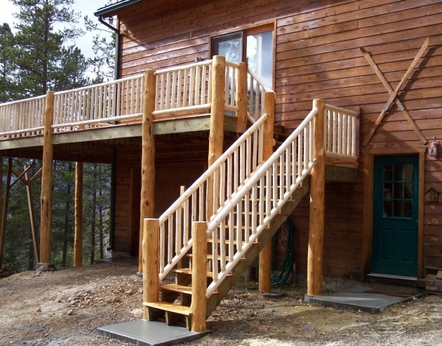 Building Stairs For A Deck With Railing Code Requirements Picture 58