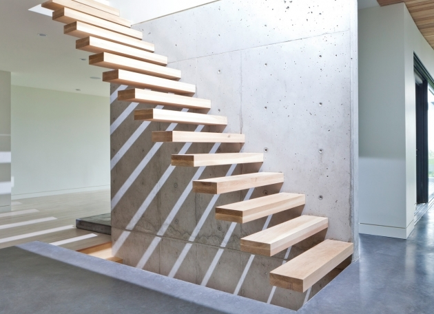 floating Stair Tread Brackets On Pinterest Steel Stairs Photos 37