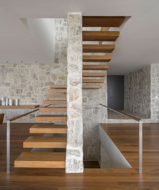 Floating Staircase Kit Wood Home In Rio De Janeiro  Images 85
