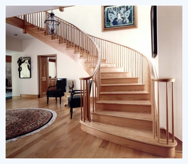 Hardwood Stairs Slippery Nonslip Stairs  Pictures 46