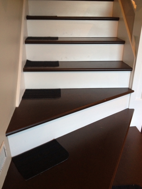 Hardwood Stairs Slippery Stair Treads From Ikea Picture 02