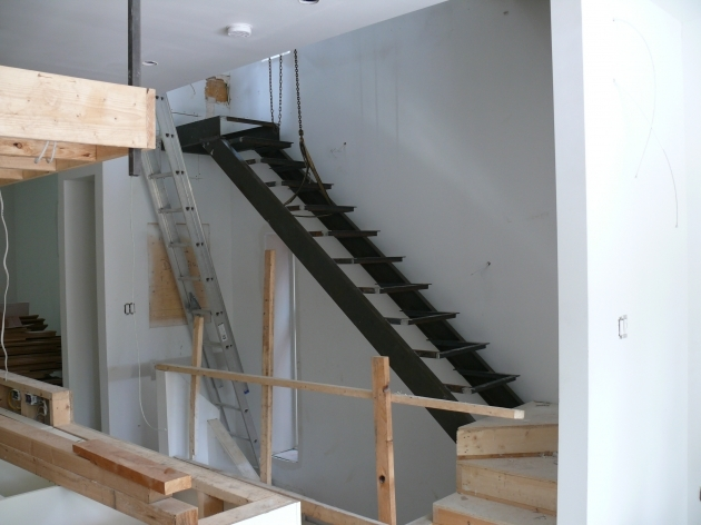 Interior Stair Stringers Steel Pictures 00
