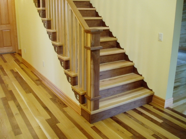 Interior Stair Stringers Walnut Stairway With Scalloped Stringers Pics 43