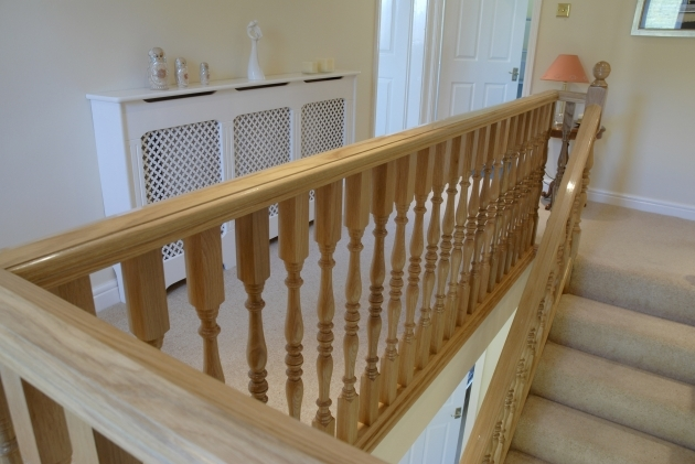Oak Staircase Spindles And Newel Posts Photo 57
