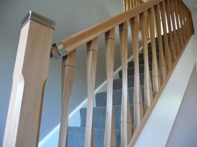 Oak Staircase Spindles Oak Ash Hemlock Pine Contemporary Raymond Twist Stair Spindles 41mm2890 Pictures 36