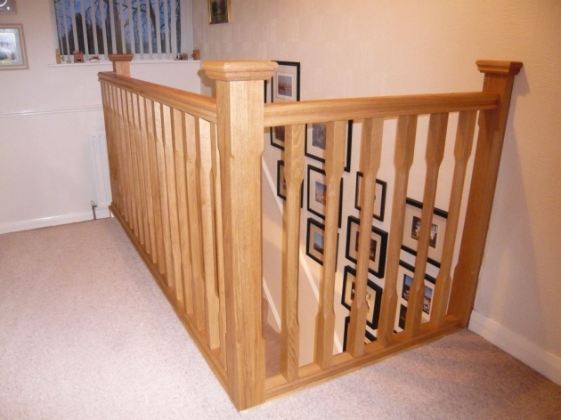 Oak Staircase Spindles Oak Large Chamfer Pictures 73
