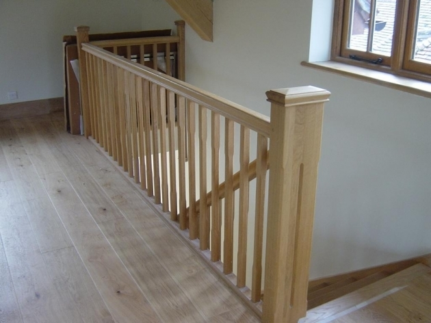 Oak Staircase Spindles Top Stair Design Ideas Remodels Images 55