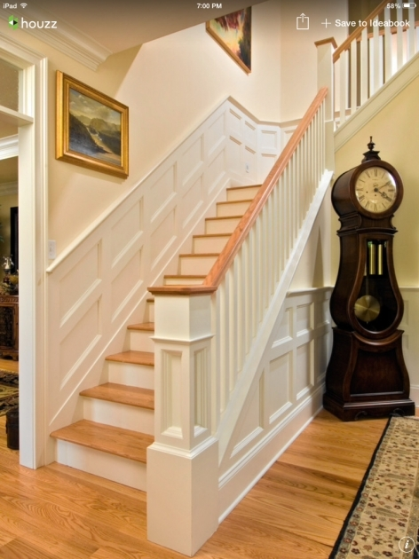 Oak Staircase White Spindles And Baluster Hallway Images 22